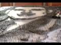 Sa majesté le roi mohammed 6 tableau fait en clous par ARTBERGARI