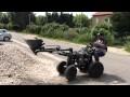 5# Micro tracteur fait maison, on rentre du remblais