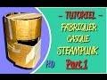 FABRIQUER CASQUE CHEVALIER STEAMPUNK #1 - TUTORIEL COSPLAY CHEVALIER