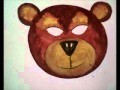 Masque d'ours à fabriquer | Masque de carnaval d'ours en papier