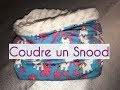Coudre un Snood Doublé sans couture apparente - DIY