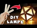 TUTO - FABRIQUE UNE LAMPE