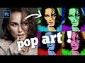 "[TUTO] : L'effet POP ART ""Andy Warhol & Marilyn Monroe"" sur Photoshop"