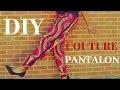 DIY: COUDRE UN PANTALON FACILE SANS PATRON //STYLE JOGGING// TISSU WAX// COLLAB KSD DIANE