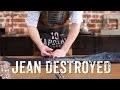Comment déchirer son jean pour un effet destroyed ?