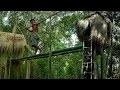 Construction De Cabanes Primitives Dans La Forêt - Vidéo Complète 2018