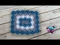 Bavarian crochet rectangulaire idéale pour couverture plaid