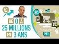 De 0 à 25 MILLIONS de CA en 3 ANS ! ENFIN RENTIER -  Se�bastien CERISE - DROPSHIPPING - E-COMMERCE