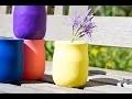 Bricolage DIY Déco récup : un vase express avec un ballon