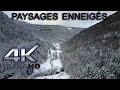 Paysages enneigés - Drone Mavic Pro [4K ULTRA HD]