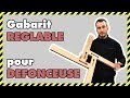 [#DIY 16] GUIDE DE DÉFONCEUSE / GABARIT DE FRAISAGE RÉGLABLE / FESTOOL MFS400 HOMEMADE