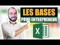 Initiation à Excel - Les bases pour faire sa comptabilité et son prévisionnel