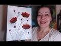 Coquelicots Débutants - Peinture Acrylique Facile
