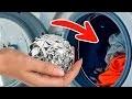 Mets du Papier Aluminium Dans la Machine à Laver, et Regarde ce Qu'il se Passe