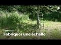 Fabriquer une échelle | Construire des installations en forêt