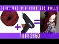 PULLIP : Tuto wig en laine simple et rapide