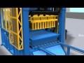 Chaine de fabrication automatique de brique/bloc QT 10-15 et machine à brique l'hourdis