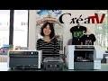 CréaTv - Démonstration Ricoh Ri100, l'imprimante directe sur textile