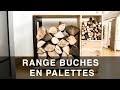 Range buches en palettes