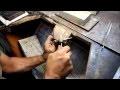 Fabrication traditionnelle d'un jonc esclave en argent