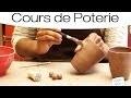 Comment décorer une poterie ?