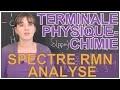 Spectre RMN : analyse - Physique-Chimie - Terminale - Les Bons Profs