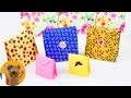 Paquet cadeau en Origami | Super joli & très pratique | Emballage cadeau pour Anniversaires & Noël