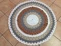 Tuto tapis mandala au crochet spe�cial gaucher