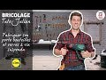 Bricolage | Fabriquer son porte bouteilles et verres à vin suspendu avec Julian | Lidl France