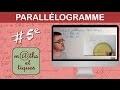 Construire un parallélogramme - Cinquième