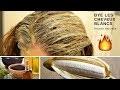 Remède naturel pour cacher les cheveux blancs naturellement