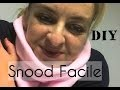 Snood Facile - Tuto Couture et DIY