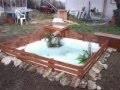 fabrication d'un bassin  pour 50 euros