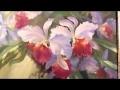 Artiste Igor Sakharov. Apprendre à dessiner Orchidées Russie Bob Ross Nouvelle Bob Ross