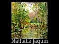 Speed painting, Palette knife landscape oil painting, by Nathalie JAGUIN