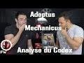 FWS  Analyse du codex Adeptus Mechanicus Analyse du codex