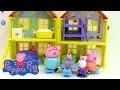 Maison de peppa pig de Luxe pâte à modeler ♥ Play doh Peppa Pig Peek n surprise playhouse