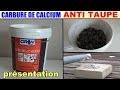 carbure de calcium anti taupe rongeurs pour lampes acétylène et canons anti-corbeaux - ciron