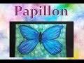 Papillon peinture Acrylique Facile à faire !