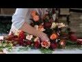 Les arts funéraires en France : La composition florale
