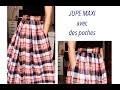 Tuto couture : une maxi skirt sans patron✨ Marion Blush