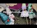 Parapluies de lavande couture facile, tutoriel