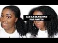 Les meilleures Extensions pour cheveux Crépus/Frisés/Bouclés