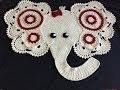 Tuto tapis éléphant au crochet