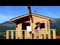 Création d'une cabane bois pour enfant sur pilotis