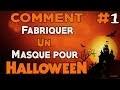 Comment faire un masque d'Halloween !!
