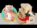 Comment faire une maison pour rats à partir de bâtonnets de glace?