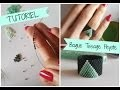 Tutoriel Bague en tissage Peyote