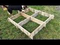 Comment fabriquer un carré de potager en palette gratuitement?