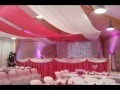 Mariage theme fushia, decorations salles mariage, salles de fetes